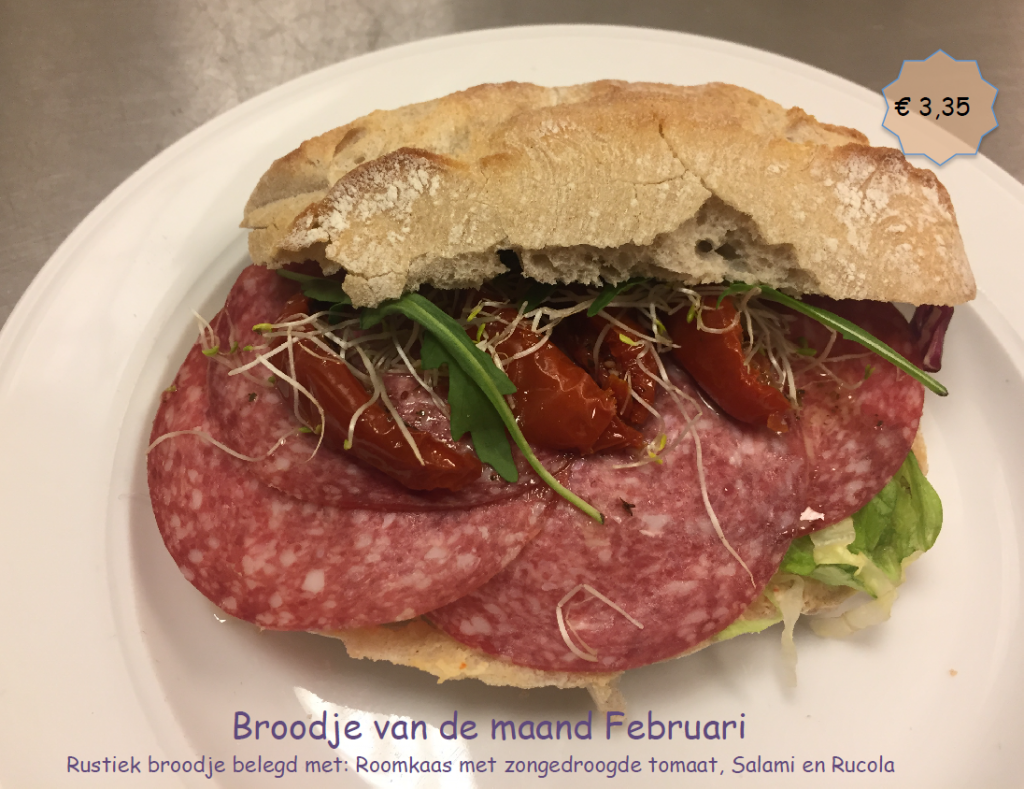 Broodje van februari 2018