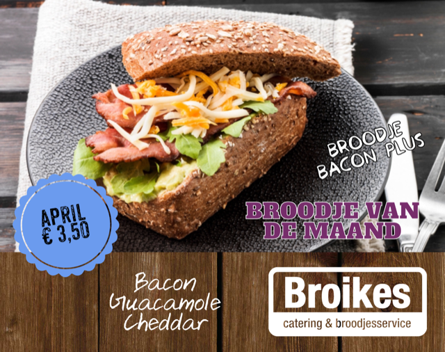 Broodje bacon plus